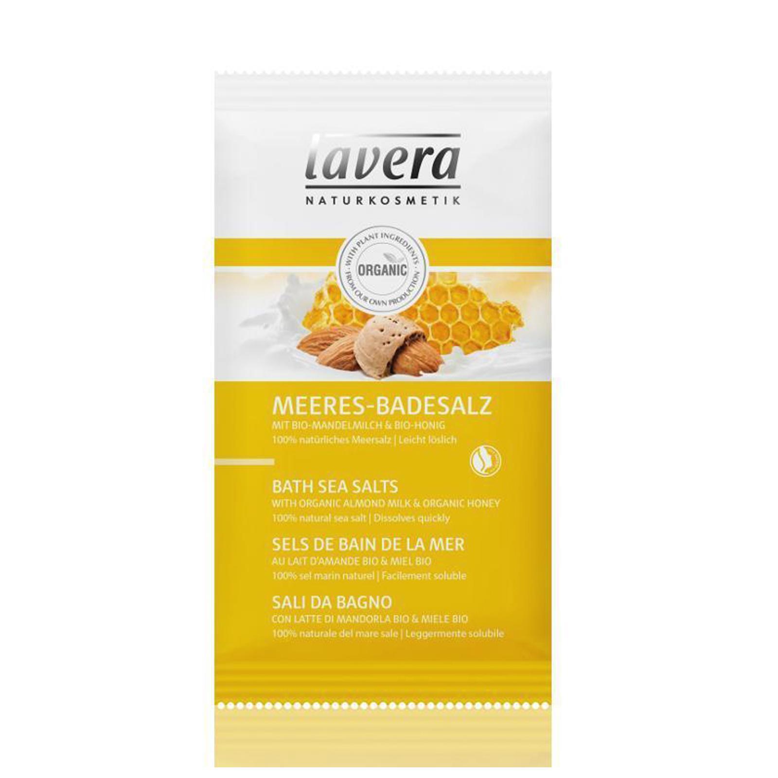 Lavera Koupelová sůl mléko a med, Body Spa 80 g