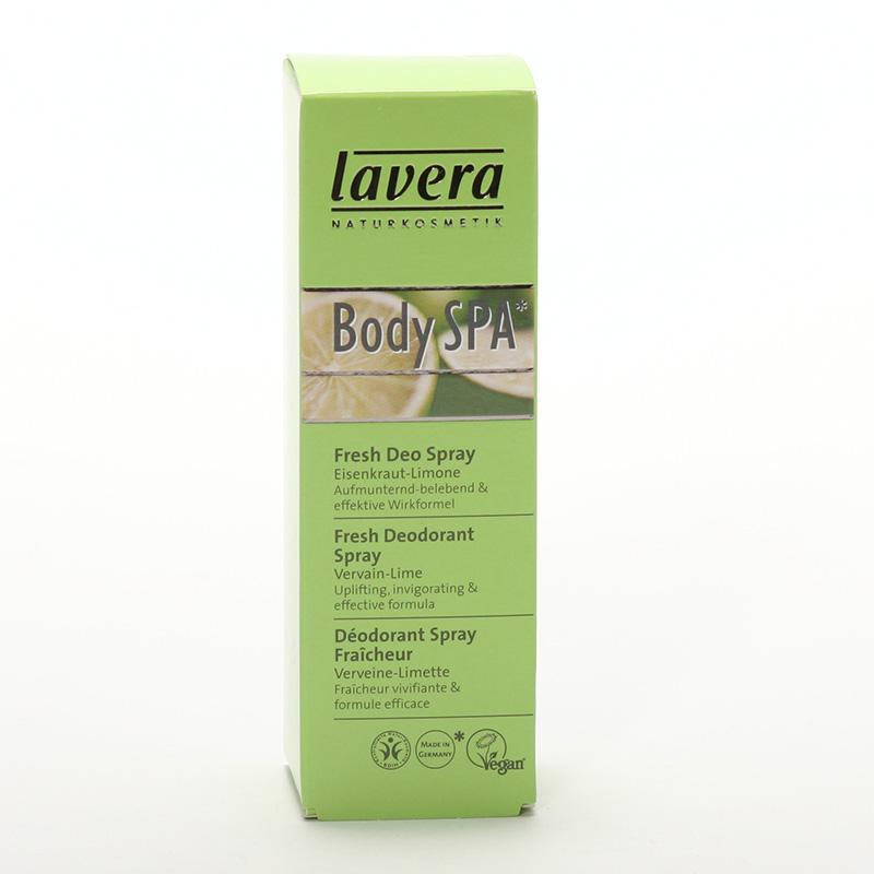 Lavera Výprodej Deodorant sprej verbena a limetka, Body Spa 50 ml