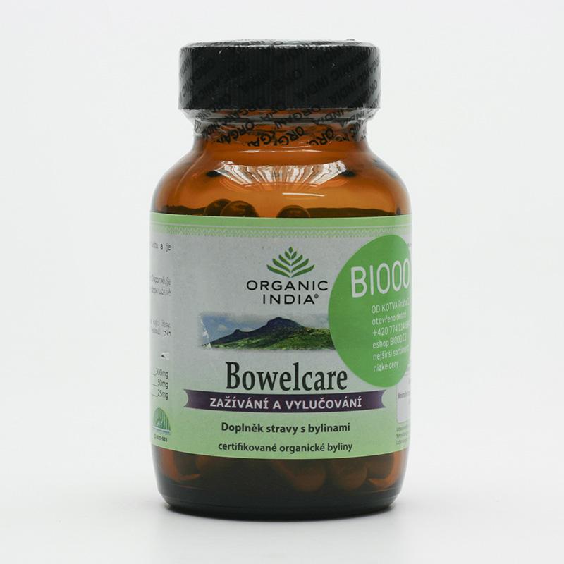 Organic India Bowel Care, kapsle 60 ks
