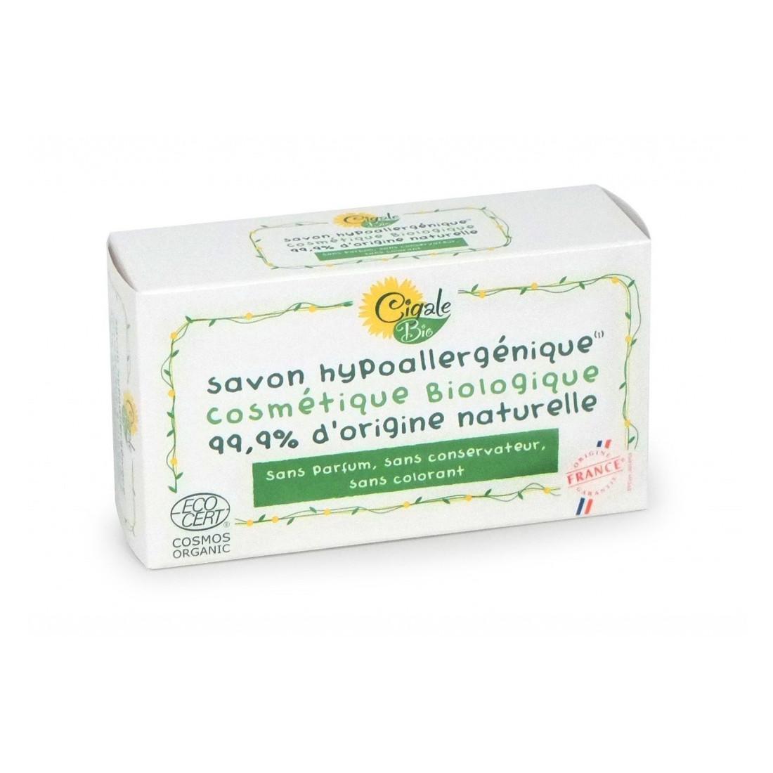 Cigale BIO Marseillské hypoalergenní koupelové mýdlo 100 g