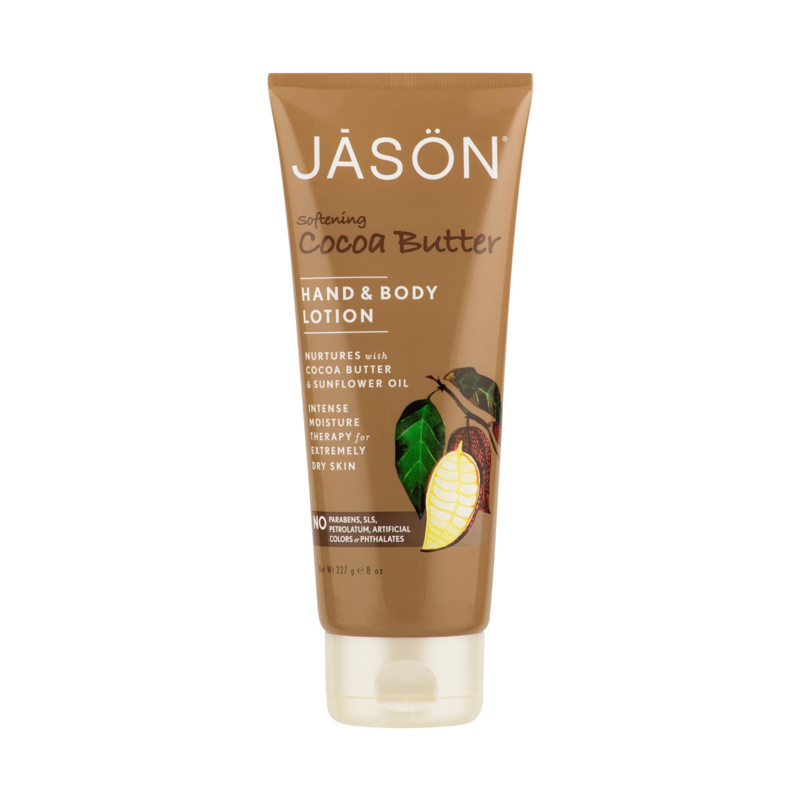 Jason Tělové mléko kakaové máslo 237 ml
