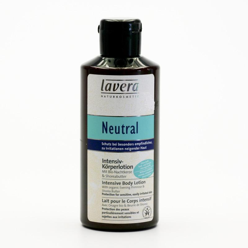 Lavera xxTělové mléko Intensiv, Neutral 200 ml