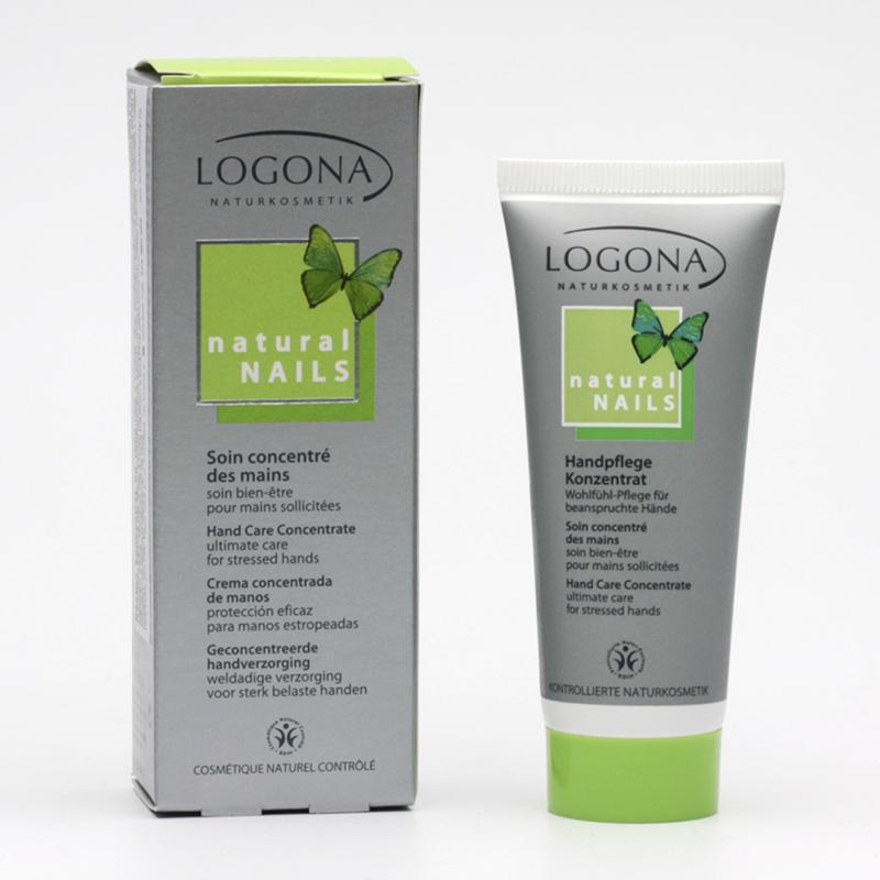 Logona Koncentrát na ruce a nehty pěstící, Natural Nails 40 ml