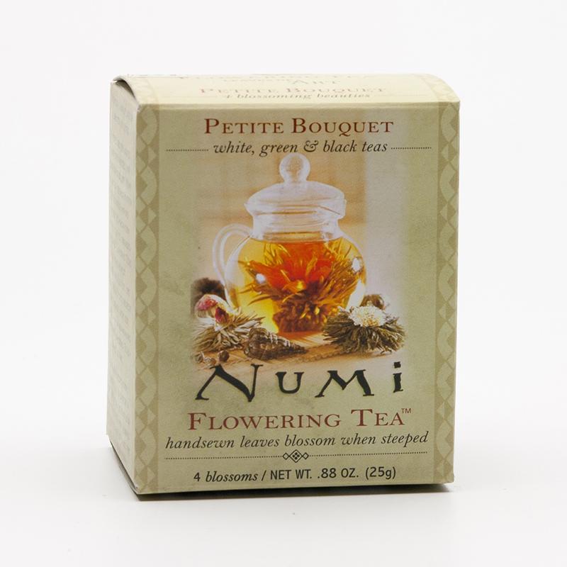 Numi Mix kvetoucích čajů Petite Bouquet 4 ks