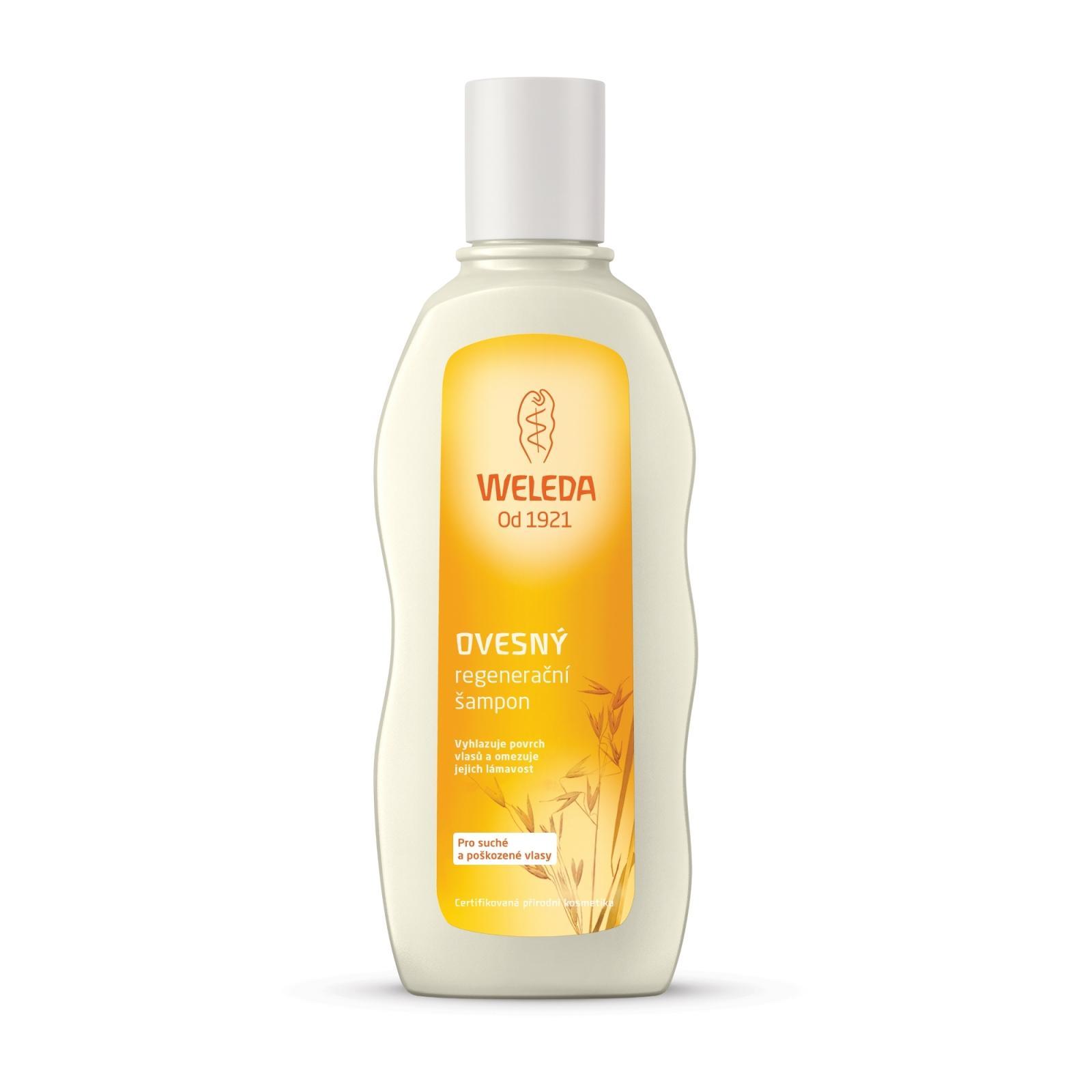 Weleda Ovesný regenerační šampon pro suché a poškozené vlasy 190 ml