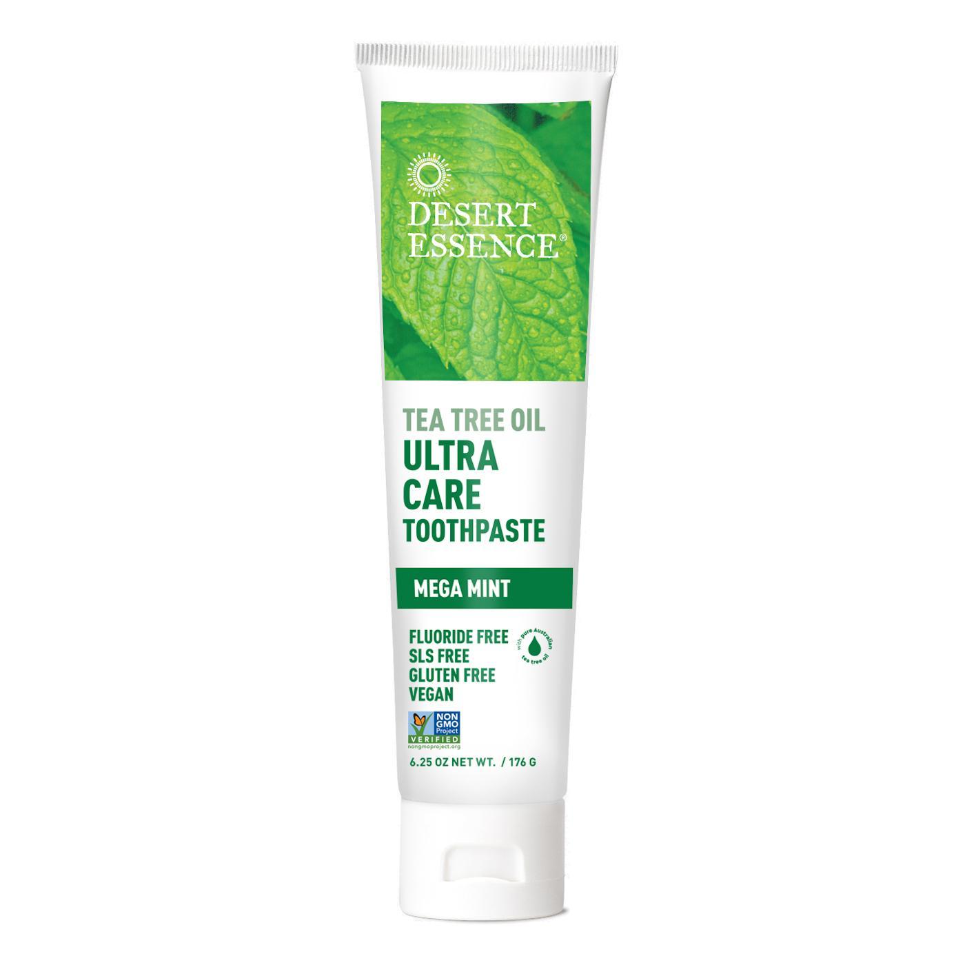 Desert Essence Zubní pasta Ultra Care - Mega Mint 176 g