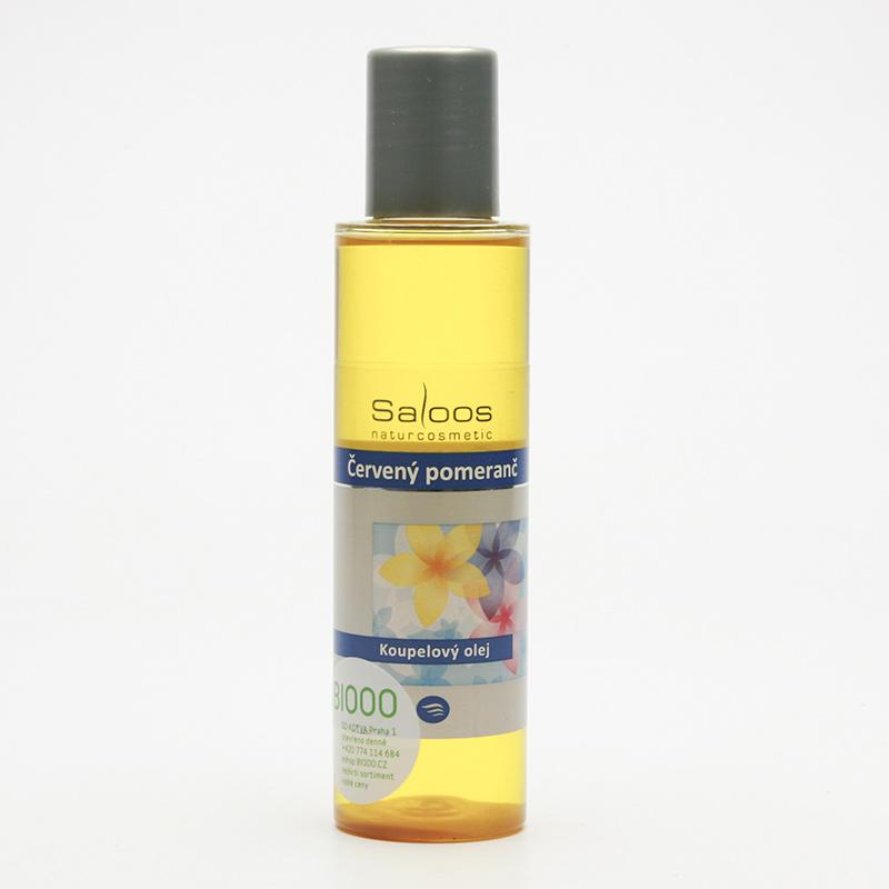Saloos Koupelový olej červený pomeranč 125 ml