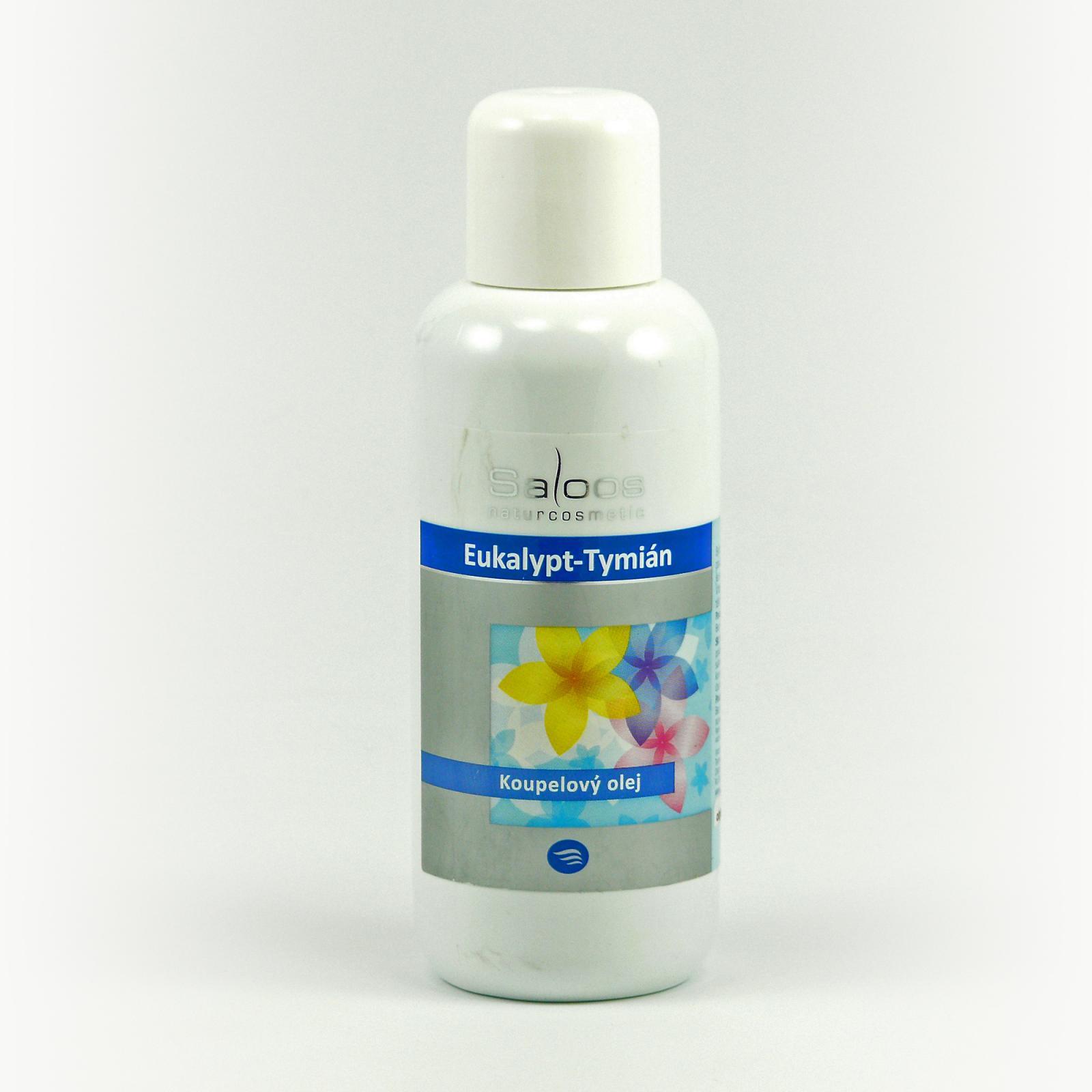 Saloos Koupelový olej eukalypt a tymián 250 ml