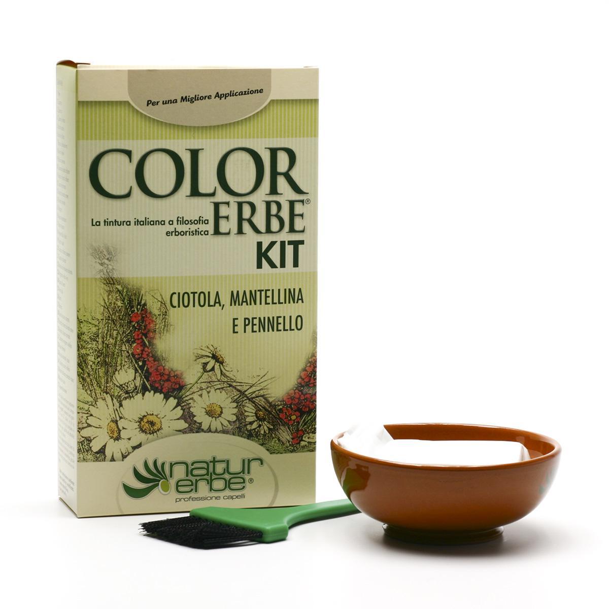 Color Erbe Sada na barvení vlasů 3 ks