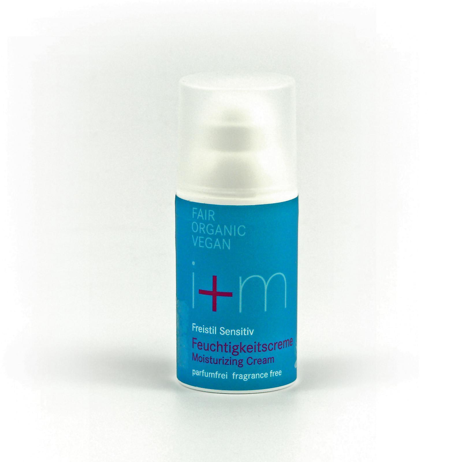 I+M Naturkosmetik Hydratační krém Freistil 30 ml