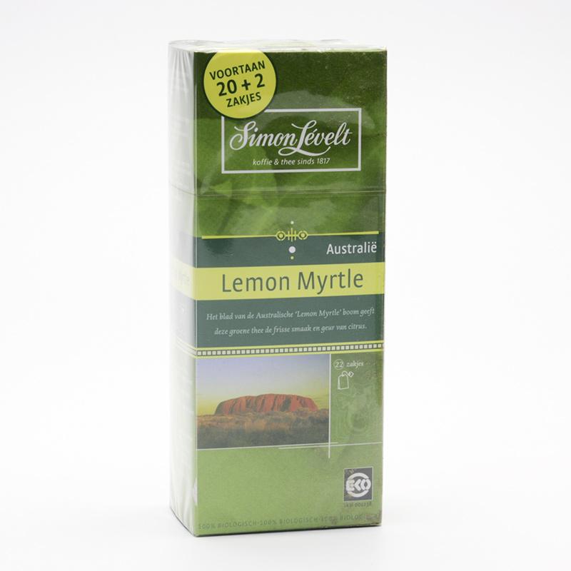 Simon Levelt Zelený čaj Lemon Myrtl 22 ks, 38,5 g