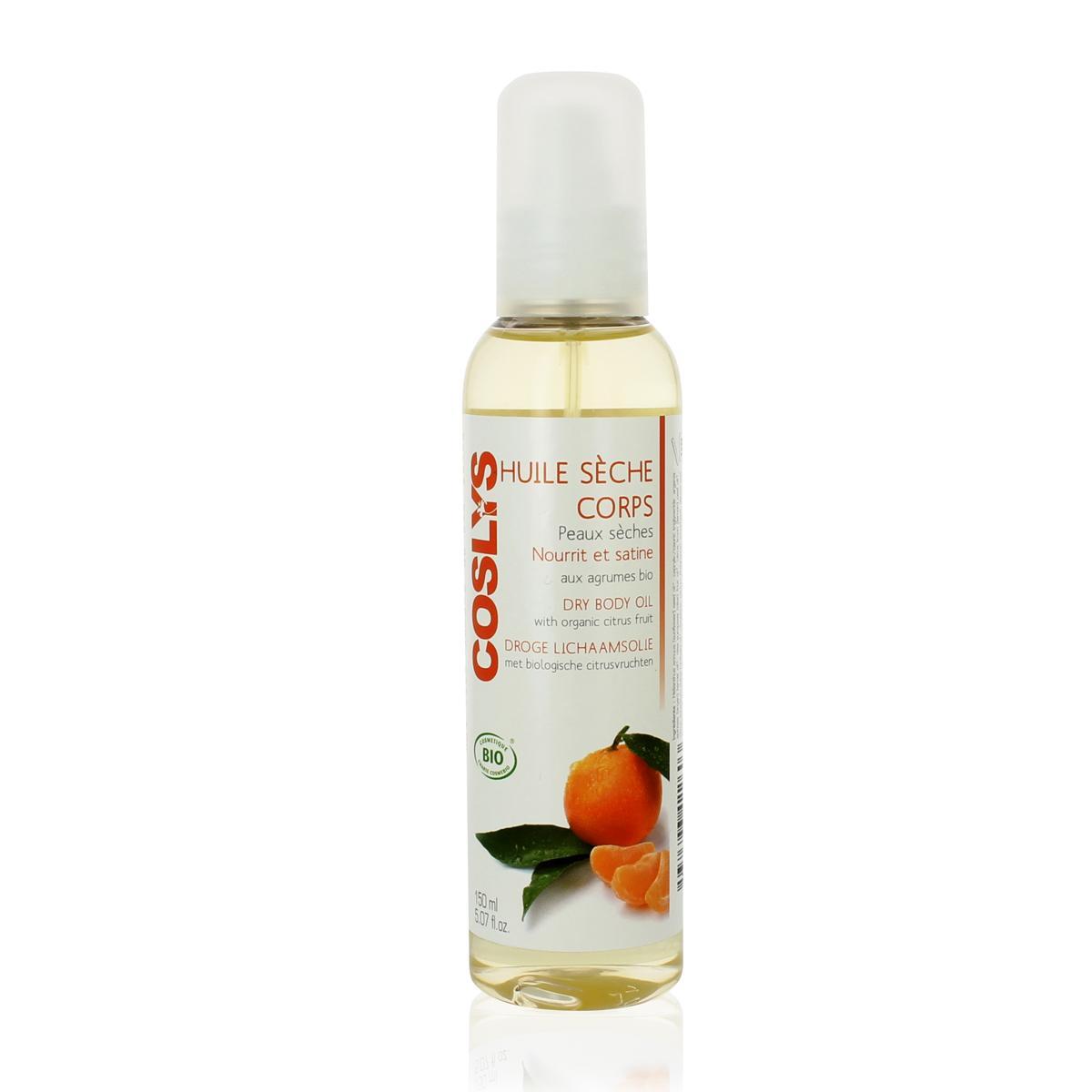 Coslys Suchý tělový olej citrusy 150 ml