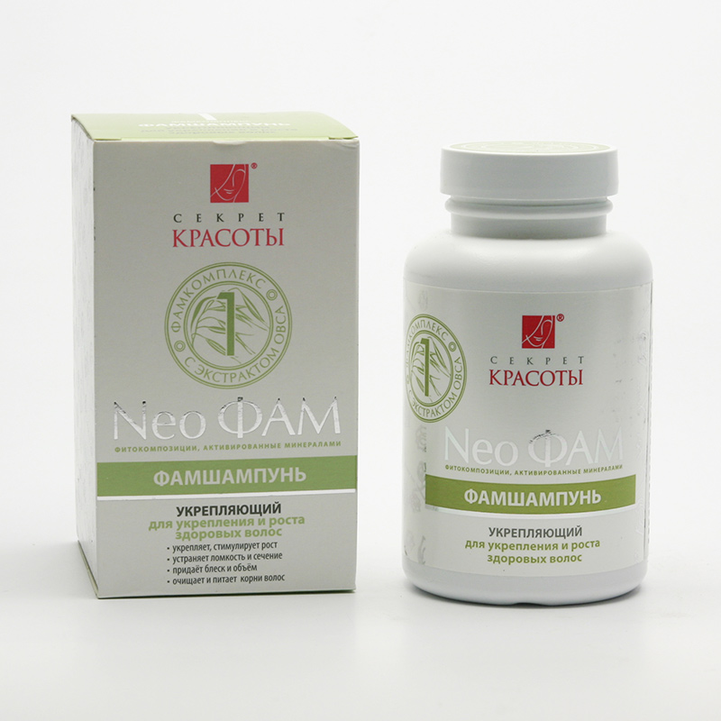 Hloubková hygiena kůže Neo FAM šampon 1, zpevňující
