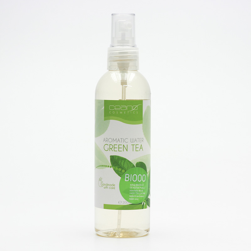 Ceano Cosmetics Květinová voda zelený čaj 200 ml