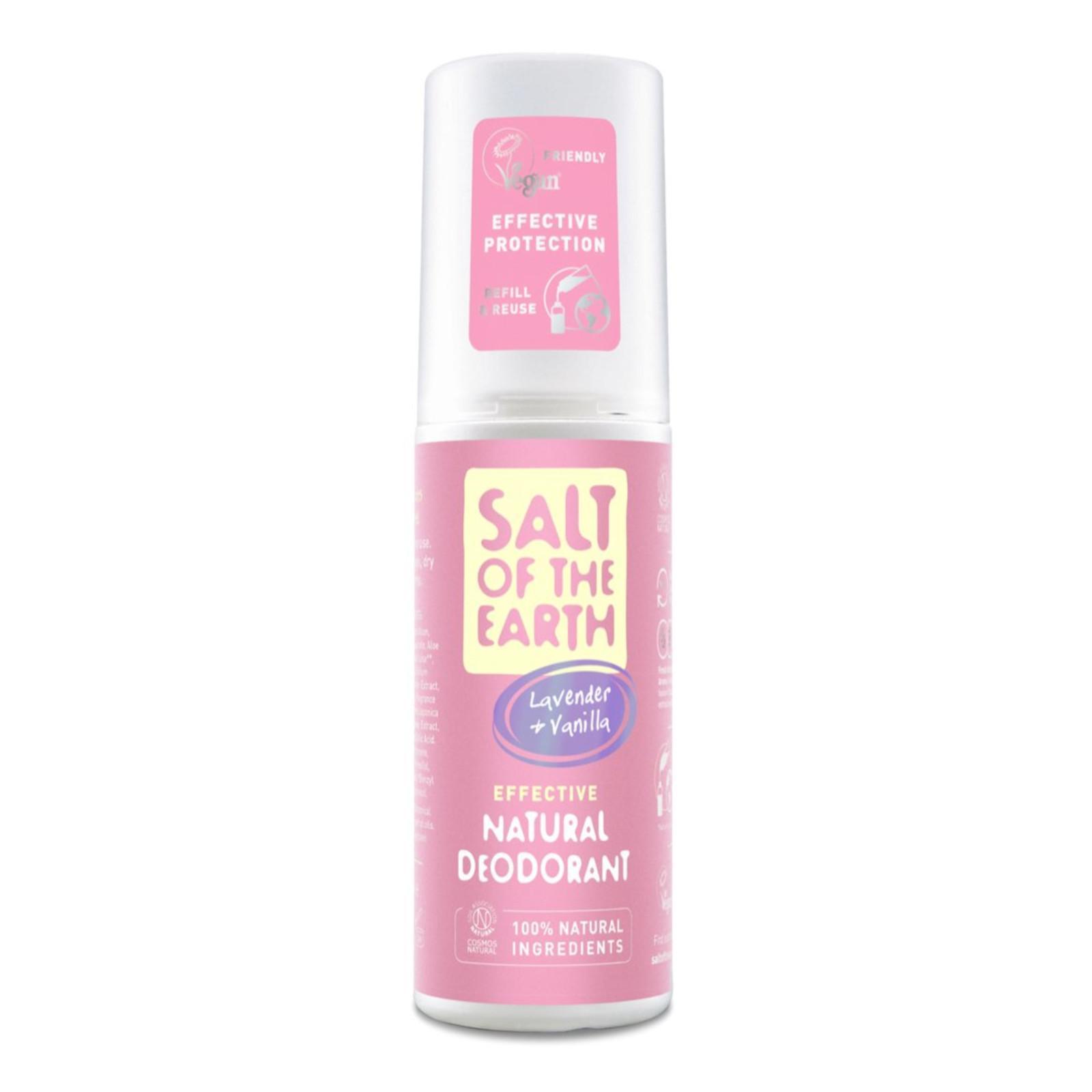 Crystal Spring Krystalový deo sprej levandule a vanilka, Pure Aura 100 ml