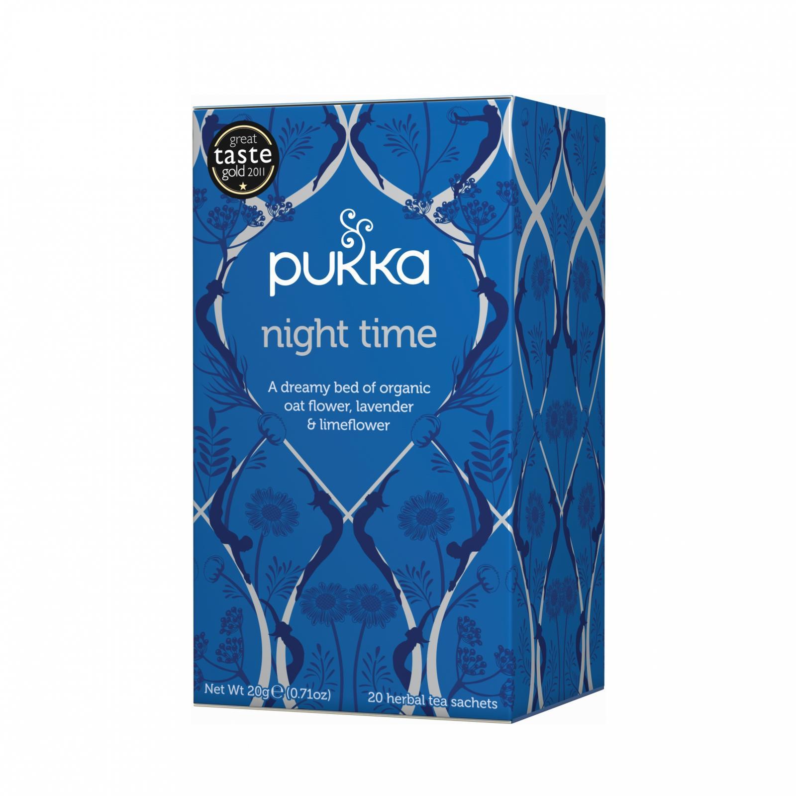 Pukka Čaj ayurvédský Night Time, bio 20 g, 20 ks