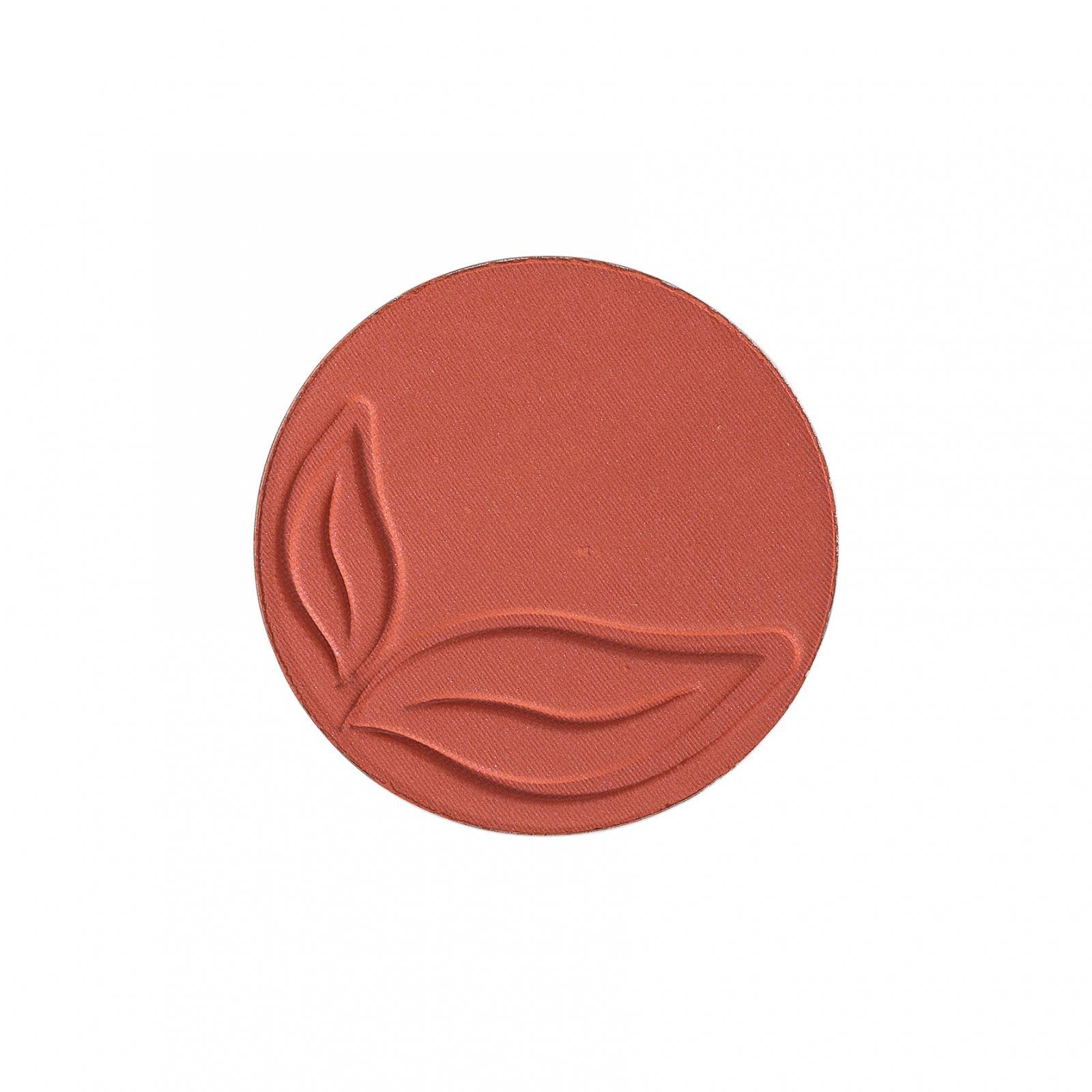 puroBIO cosmetics Tvářenka 04 Matt Brick 5,2 g náplň