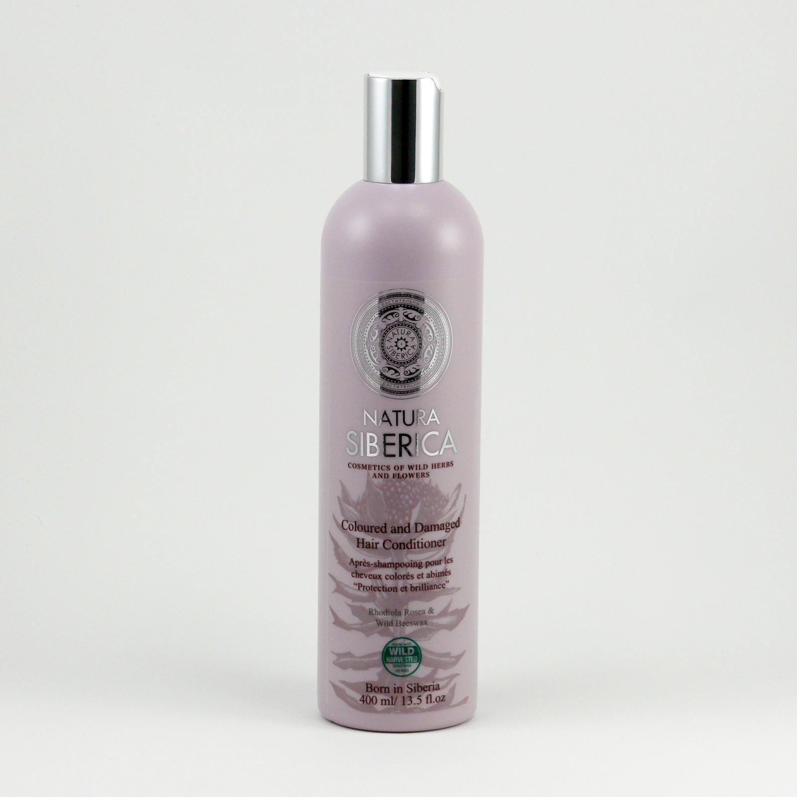 Natura Siberica Kondicionér pro barvené a poškozené vlasy 400 ml