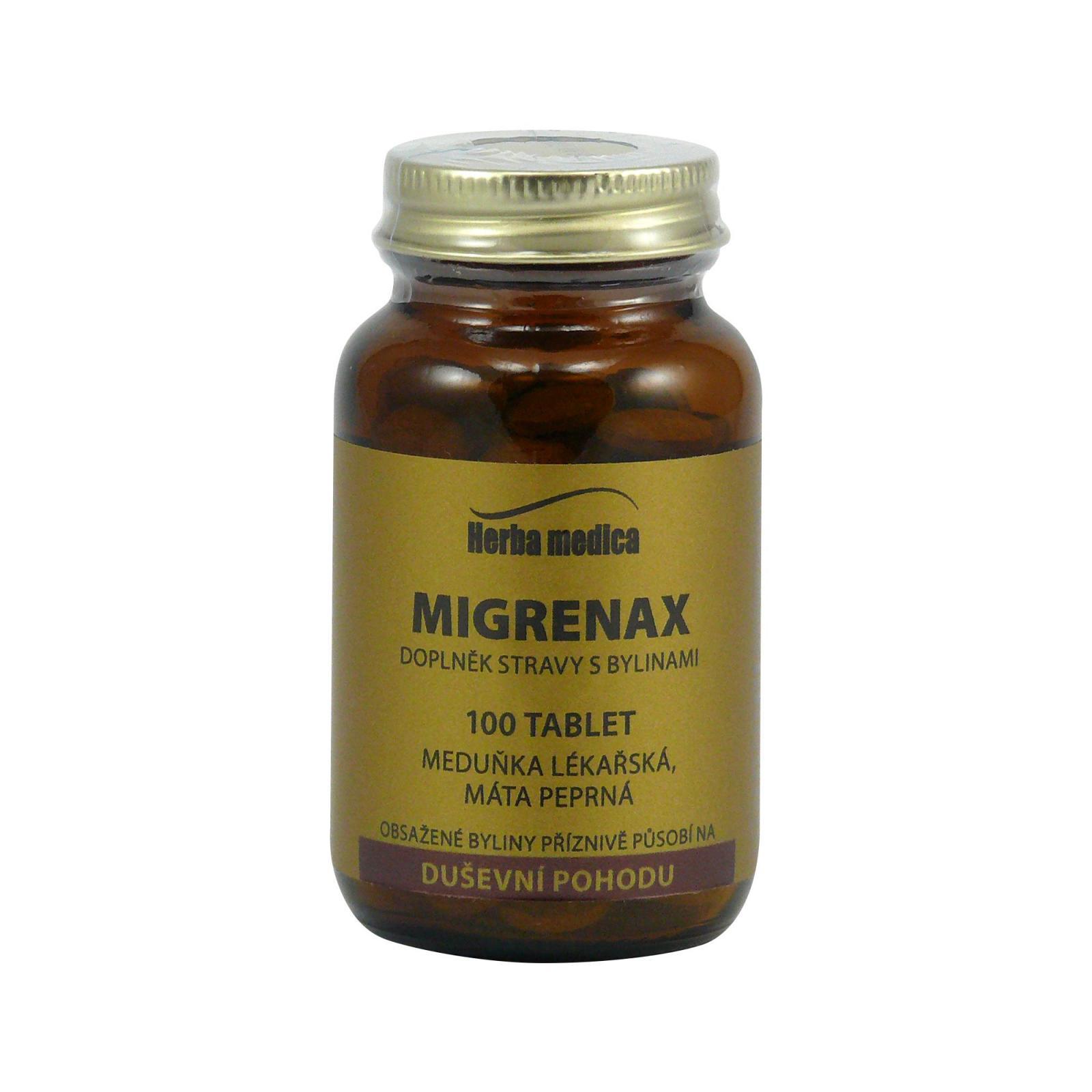 Herba Medica Migrenax 50 g,100 ks (tablet)