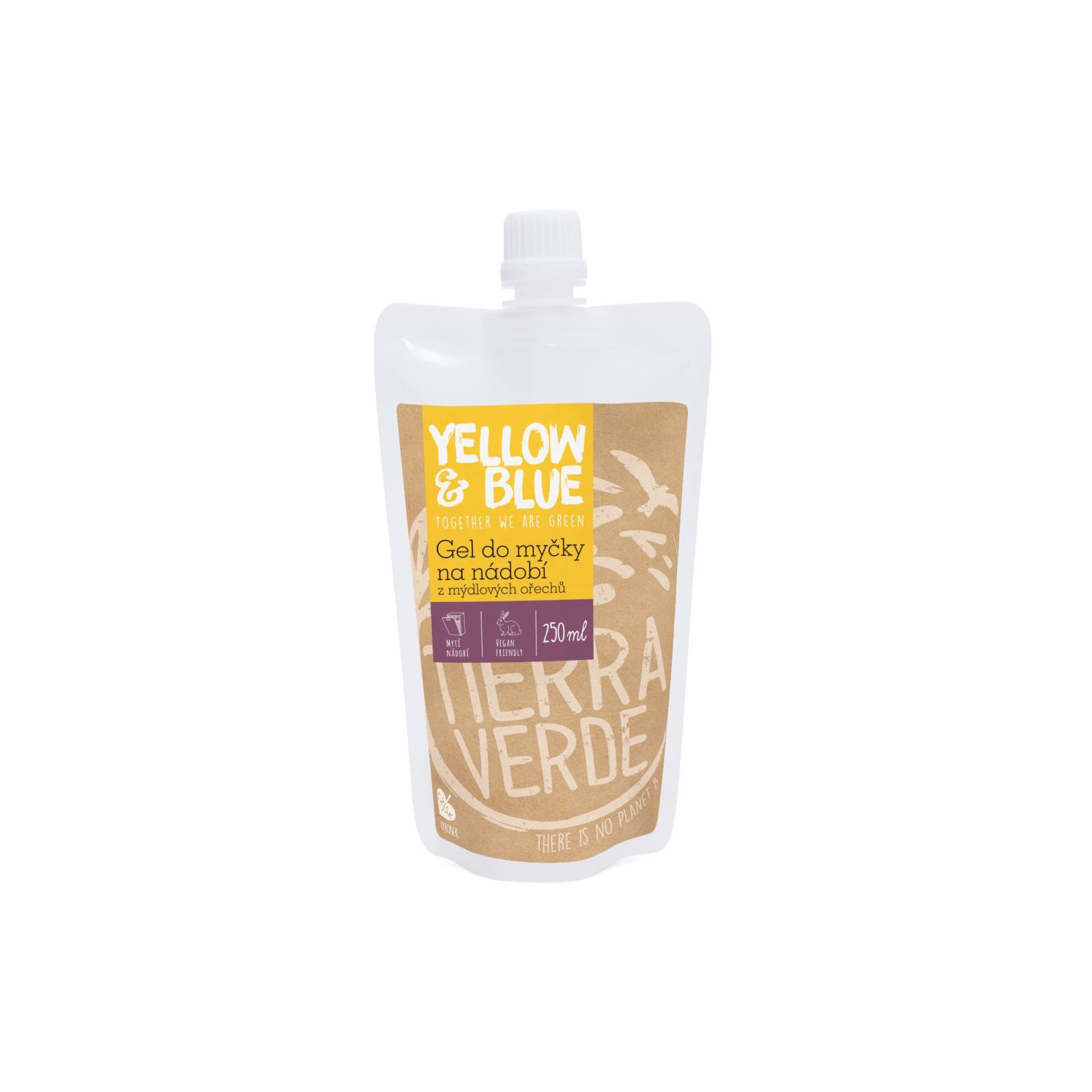 Yellow and Blue Gel do myčky na nádobí z mýdlových ořechů 250 ml