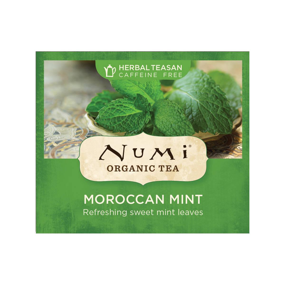 Numi Organic Tea Bylinný čaj Moroccan Mint 2,2 g, 1 ks