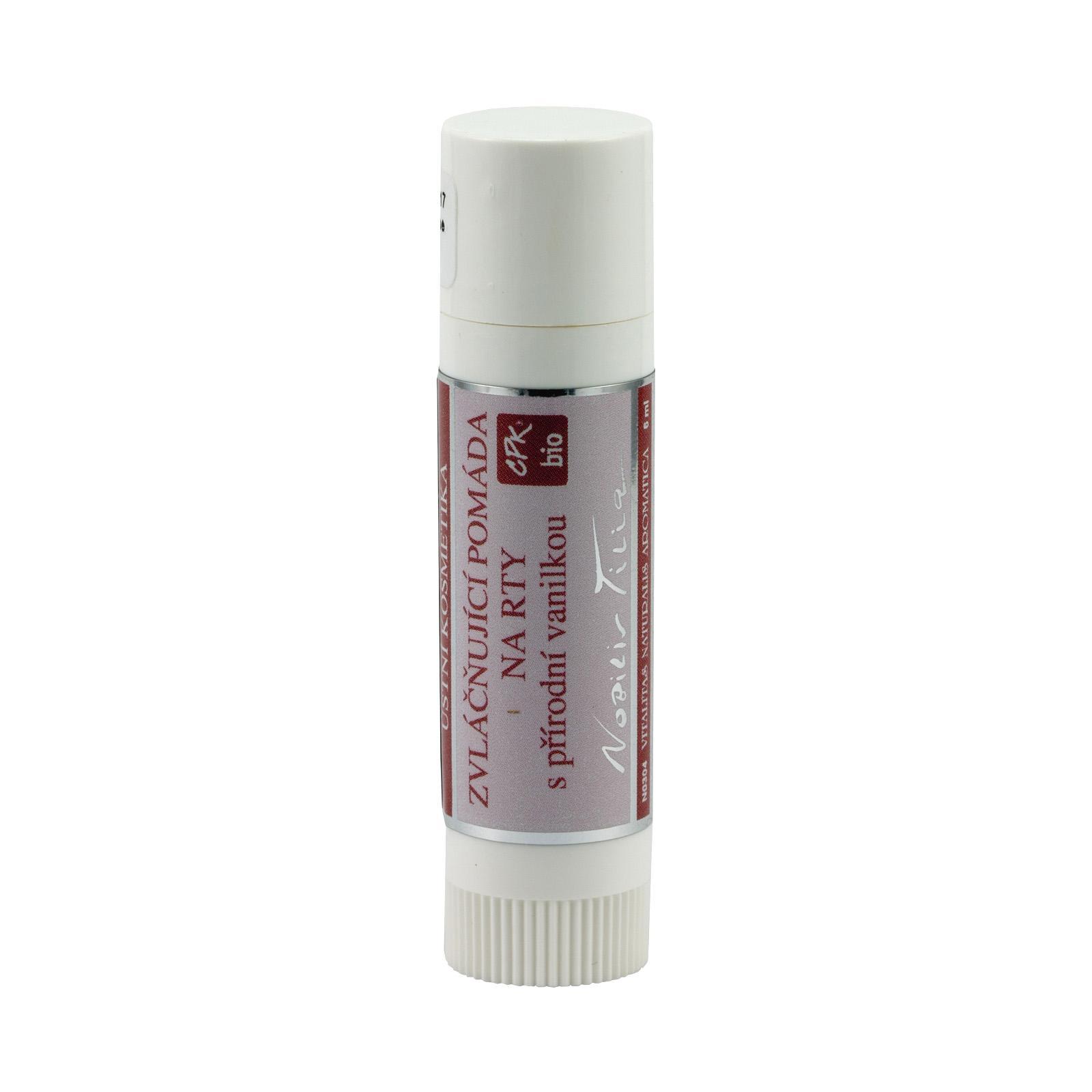 Nobilis Tilia Pomáda na rty zvláčňující 6 ml, tyčinka