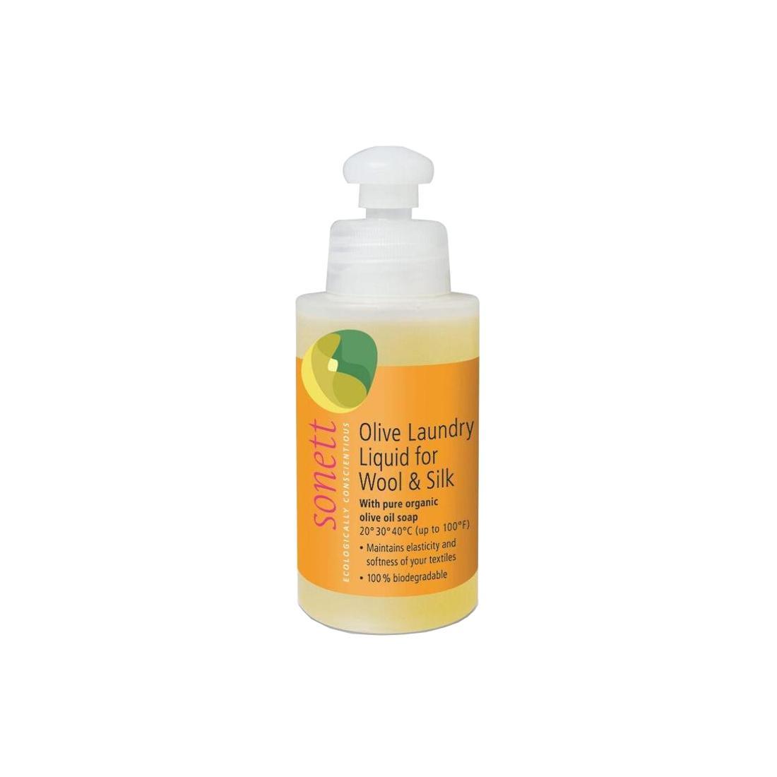 Sonett Prací gel olivový na vlnu a hedvábí 120 ml