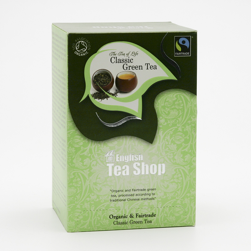 English Tea Shop x Zelený čaj  20 ks, 40 g