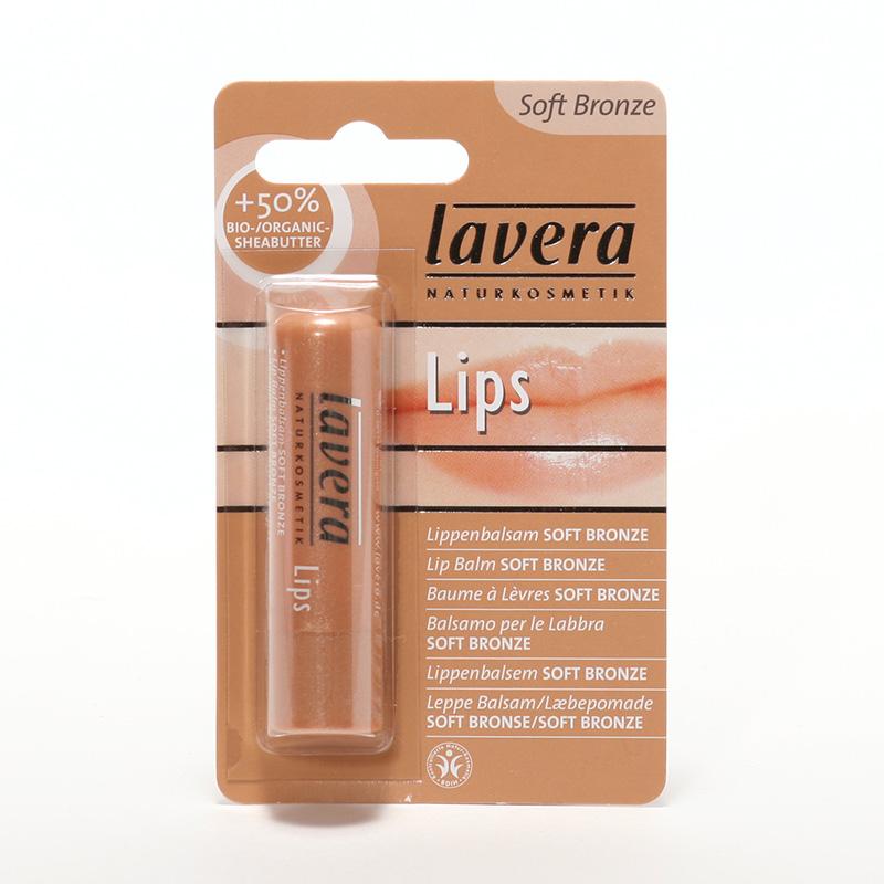 Lavera Balzám na rty soft bronze, Lips 4,5 g