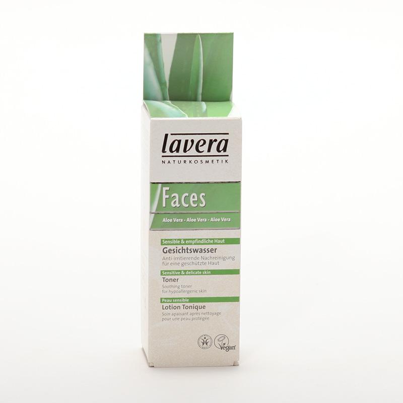 Lavera xxPleťový toner aloe vera, Faces 50 ml