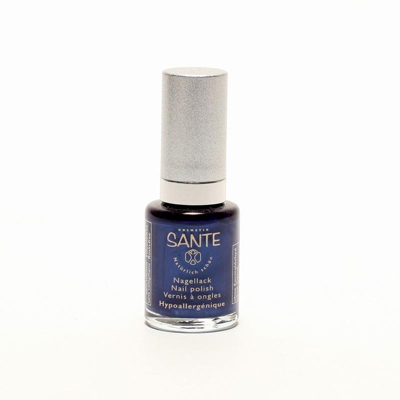 Santé x Lak na nehty Shiny Blue, 37 10 ml