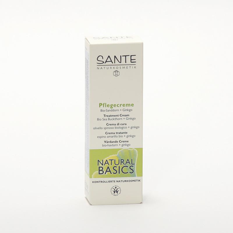 Santé Pěstící krém bio rakytník a ginkgo, Natural Basics 50 ml