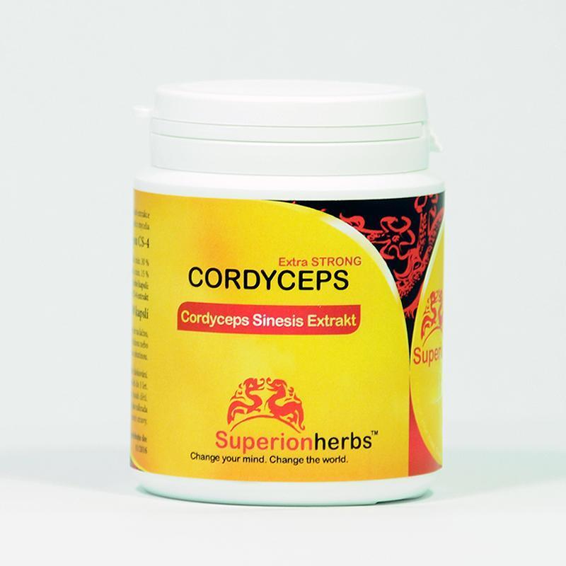 Superionherbs Cordyceps Housenice čínská 4*90 kapslí