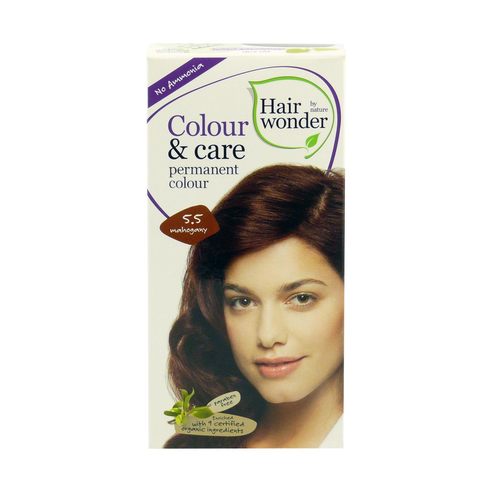 Hairwonder Dlouhotrvající barva mahagon 5.5 100 ml