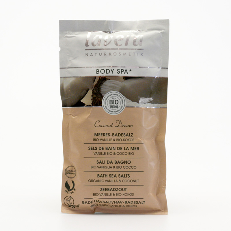 Lavera Koupelová sůl vanilka a kokos, Body Spa 80 g