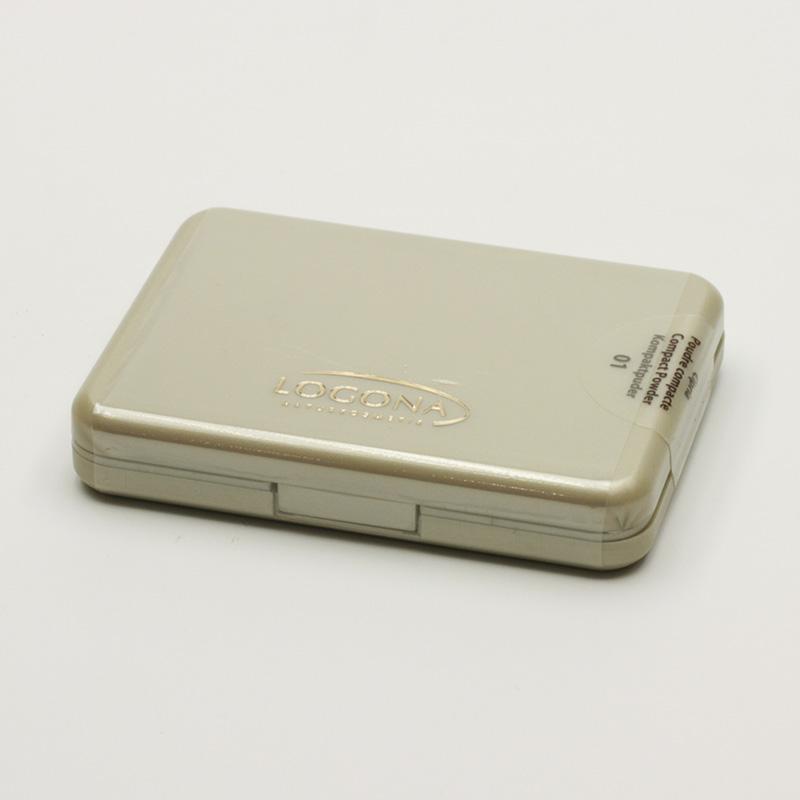 Logona x Kompaktní pudr 01, Light Beige 10 g