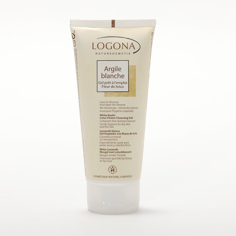 Logona Mycí krém lotos, Lavaerde, bílá 200 ml