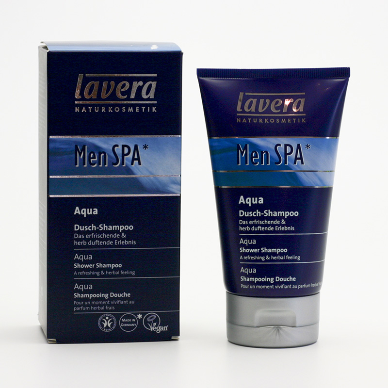 Lavera xxSprchový šampon Aqua Fresh, Men Spa 150 ml