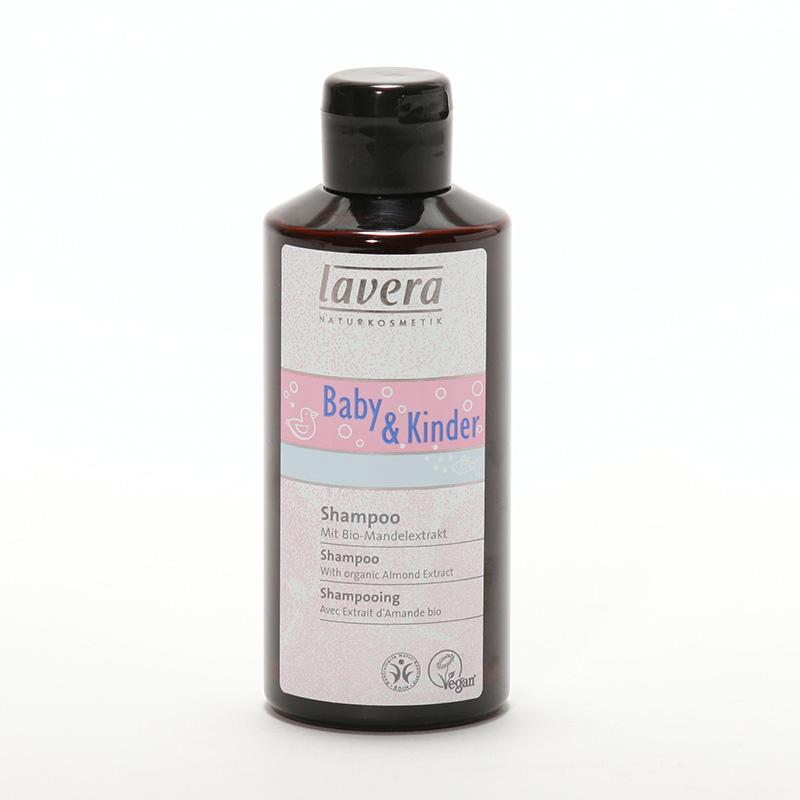 Lavera xxŠampon mandlový, Baby Kinder 200 ml