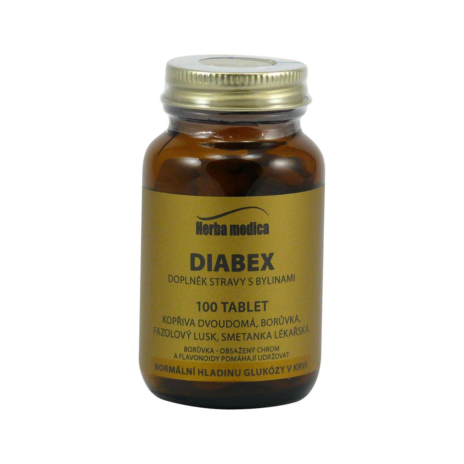Herba Medica Diabex 50 g,100 ks (tablet)