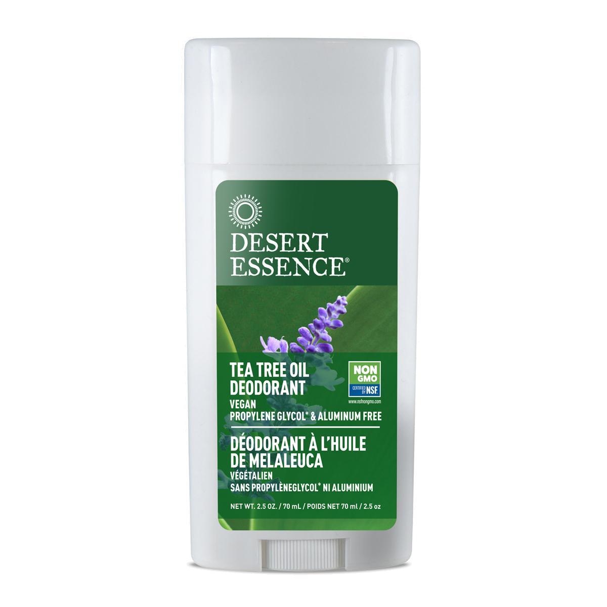 Desert Essence Tuhý deodorant tea tree a levandule 70 ml