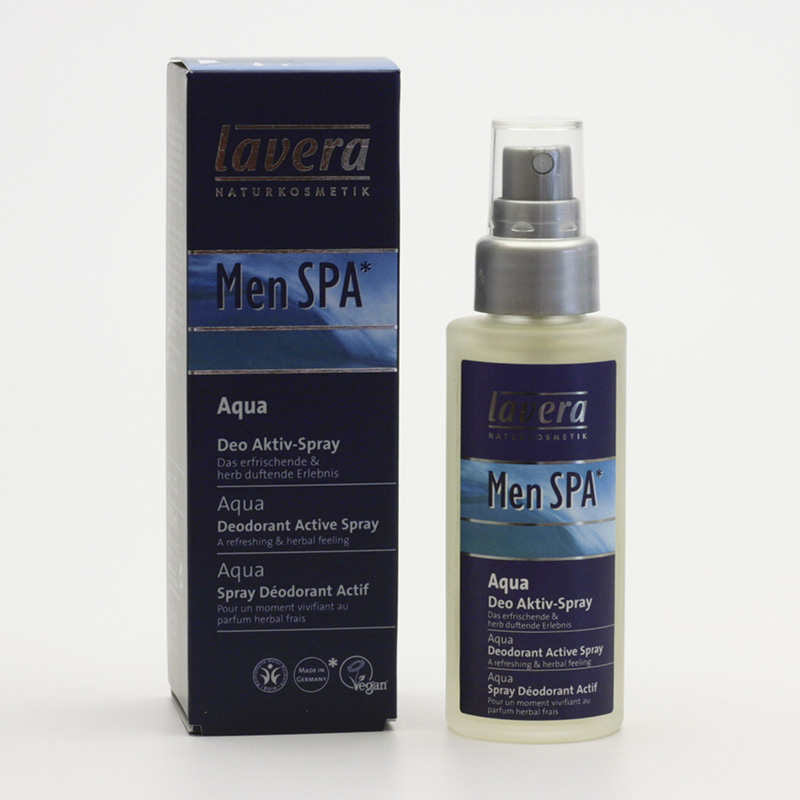 Lavera xxDeodorant sprej Aqua Fresh, Men Spa 50 ml