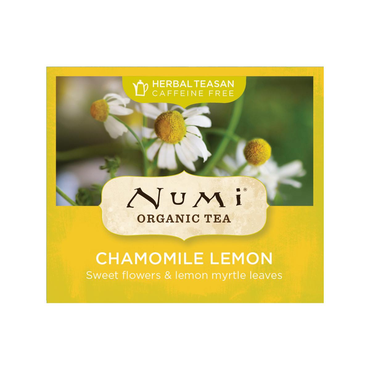 Numi Bylinný čaj Chamomile Lemon 1 ks, 1,7 g