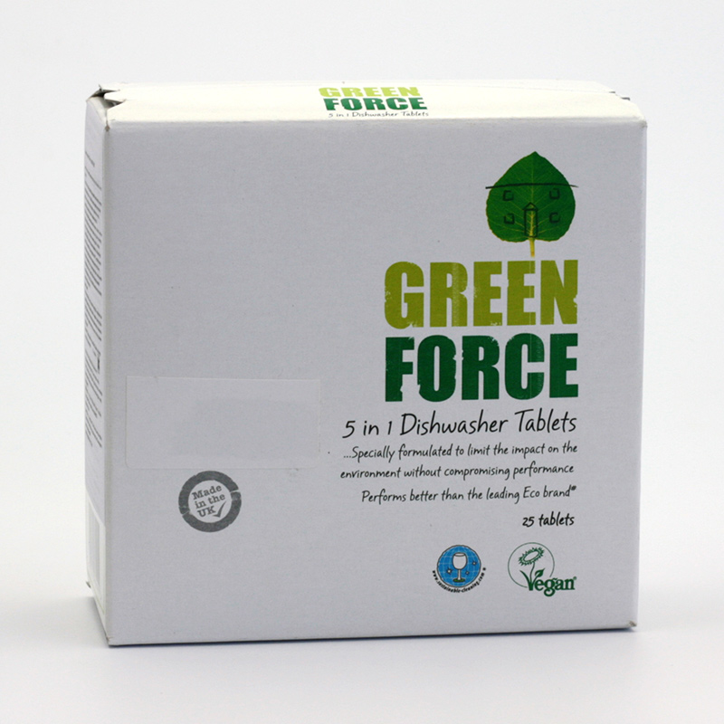 Green Force - Planet Green  Tablety do myčky 5v1 25 ks, 350 g