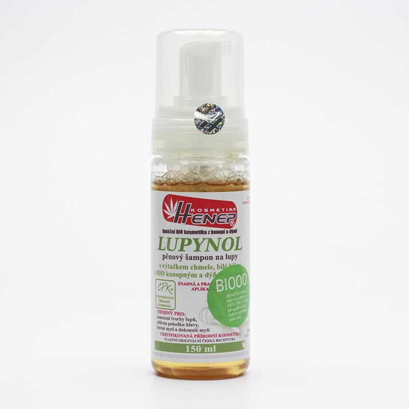 Henep Vlasová mycí pěna na lupy Lupynol 150 ml