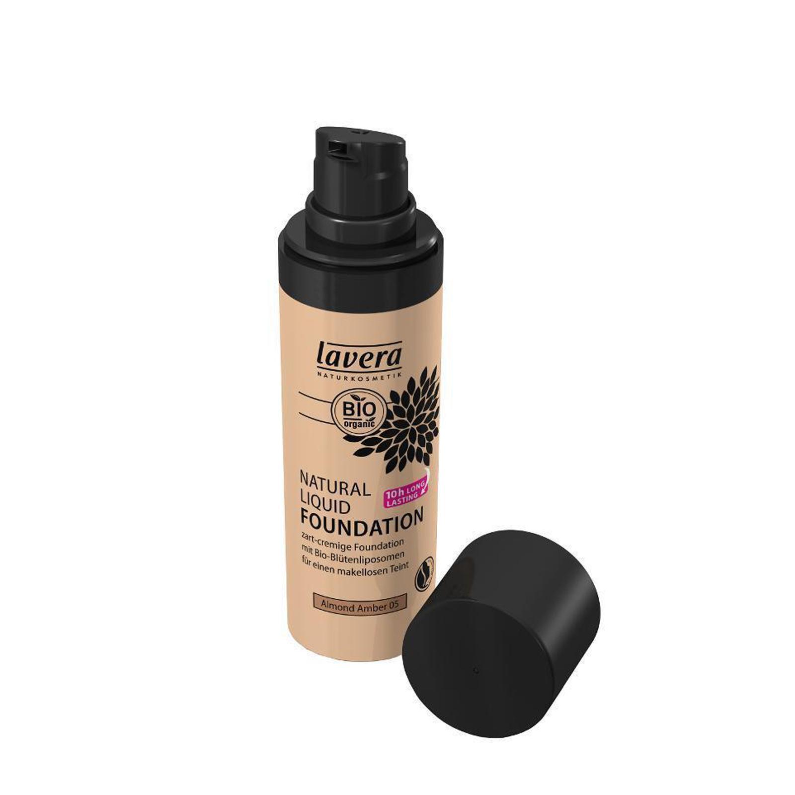 Lavera Make-up tekutý 05 mandle-ambra, Trend Sensitiv 2014 30 ml