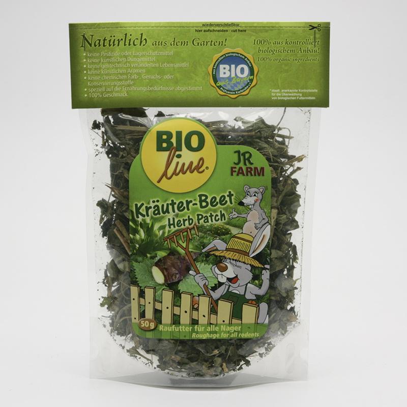 JR Farm Biopamlsky pro hlodavce, Herb Patch 50 g