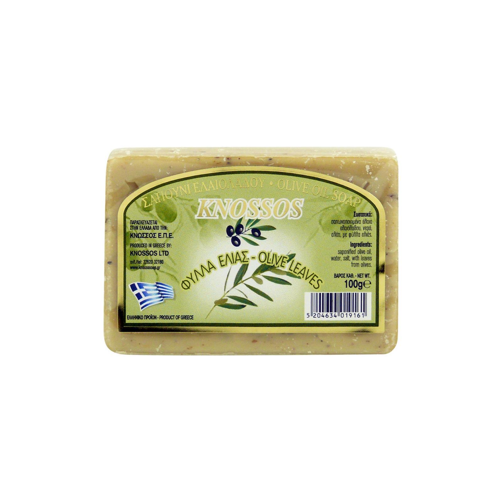 Knossos Mýdlo tuhé olivové, olivové listy 100 g