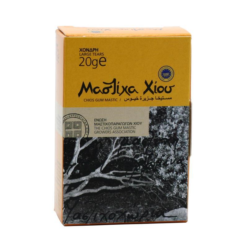 Chios Masticha surová velká, papírová krabička 20 g
