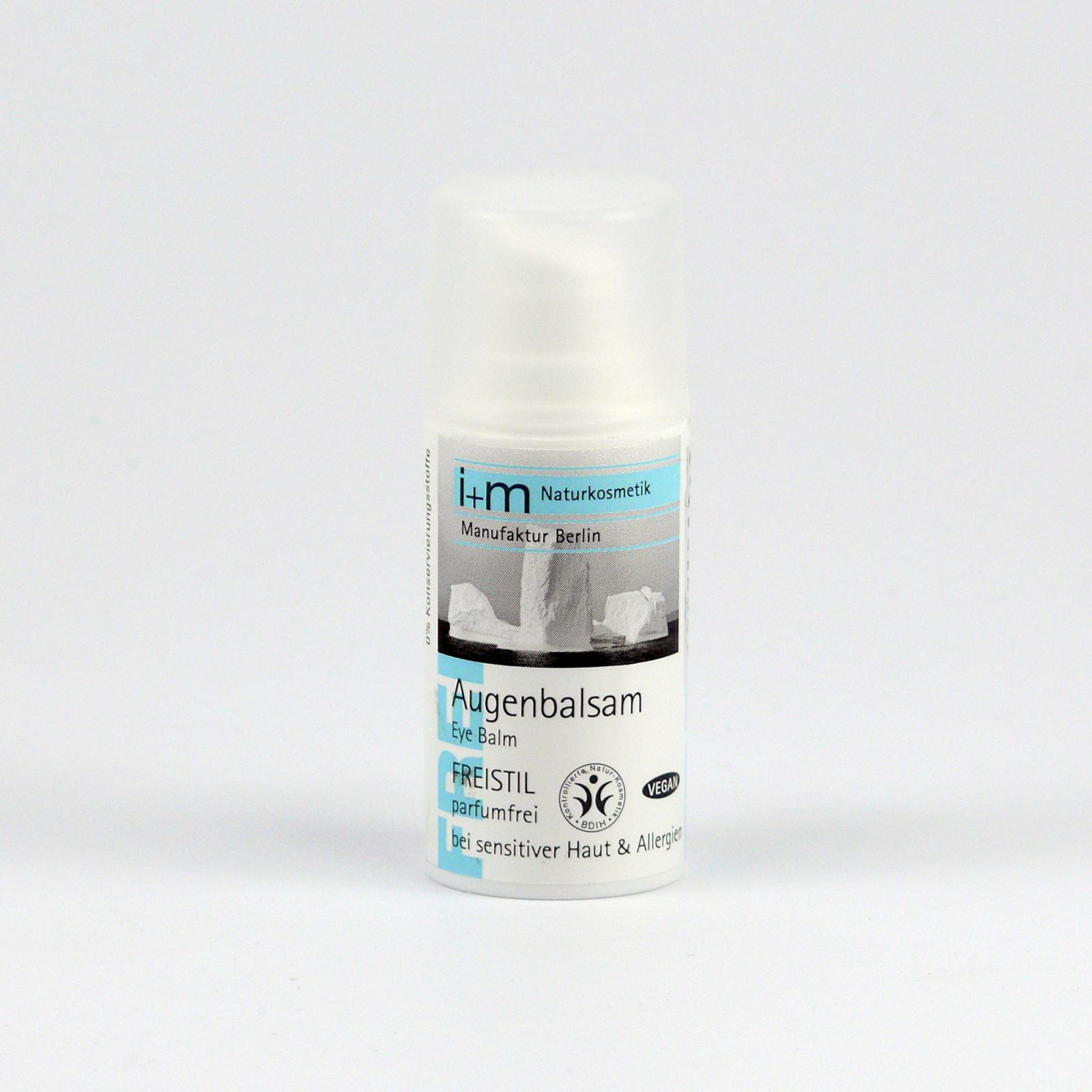 I+M Naturkosmetik Balzám na oči Freistil 15 ml